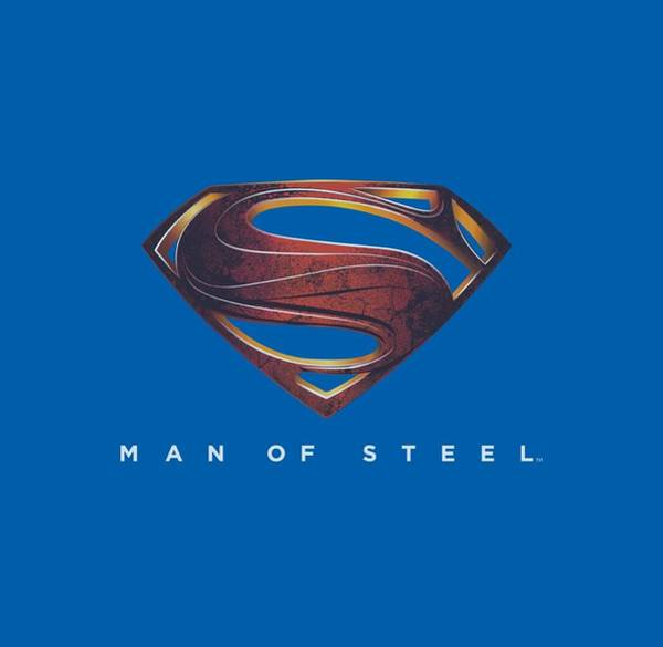 Man Of Steel Wall Art - Digital Art - Man Of Steel - Mos New Logo by Brand A
