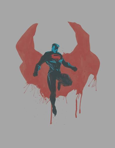 Man Of Steel Wall Art - Digital Art - Man Of Steel - Paint Cape by Brand A