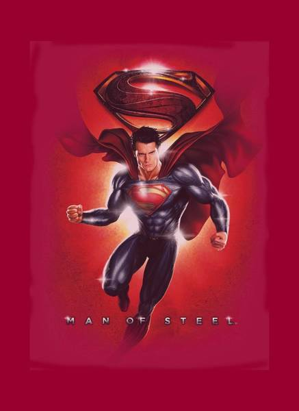 Man Of Steel Wall Art - Digital Art - Man Of Steel - Title by Brand A