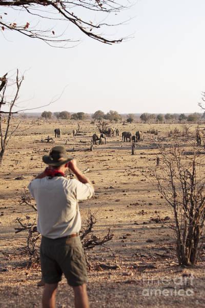 Wall Art - Photograph - Man On Safari by BC Imaging