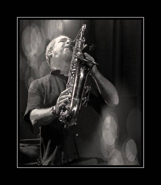 Photograph - Man On Sax by Alice Gipson