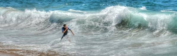 Photograph - Man Vs Wave by Bill Hamilton