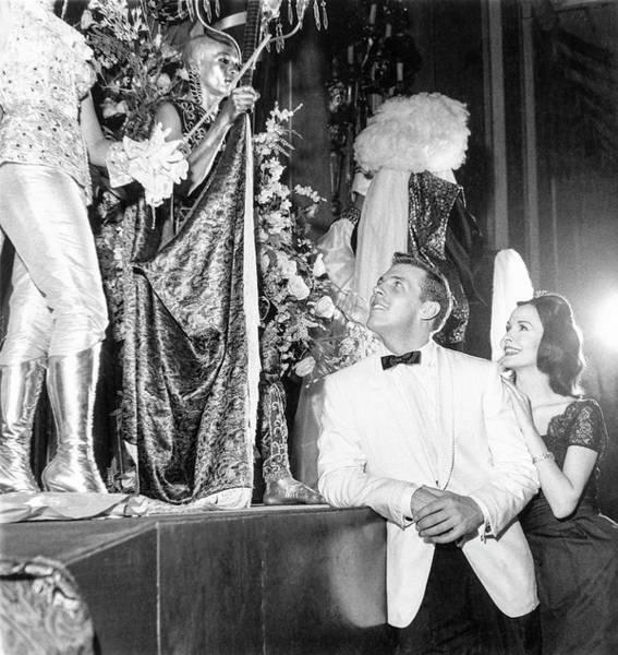 Rio De Janeiro Photograph - Man Wearing A Suit By Costume Winners by Richard Waite