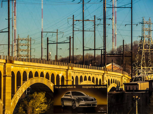 Photograph - Manayunk Bridge Pencoyd Viaduct by Louis Dallara