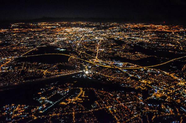 Greater Manchester Wall Art - Photograph - Manchester After Dark by Natasha Larkin
