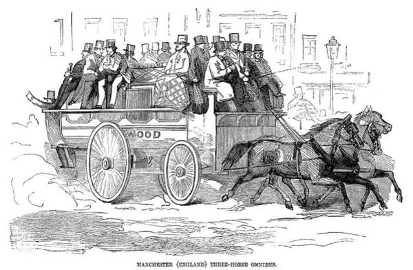 Painting - Manchester Omnibus, 1857 by Granger