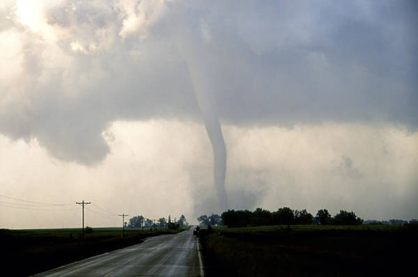 Photograph - Manchester Tornado 1 Of 6 by Jason Politte