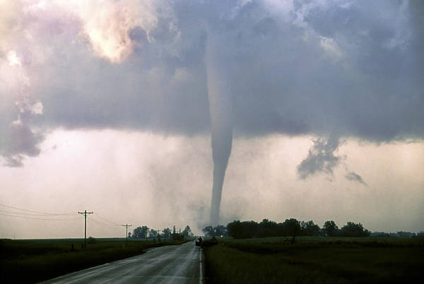 Photograph - Manchester Tornado 3 Of 6 by Jason Politte