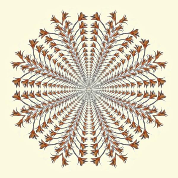 Photograph - Mandala 12 by Beth Sawickie