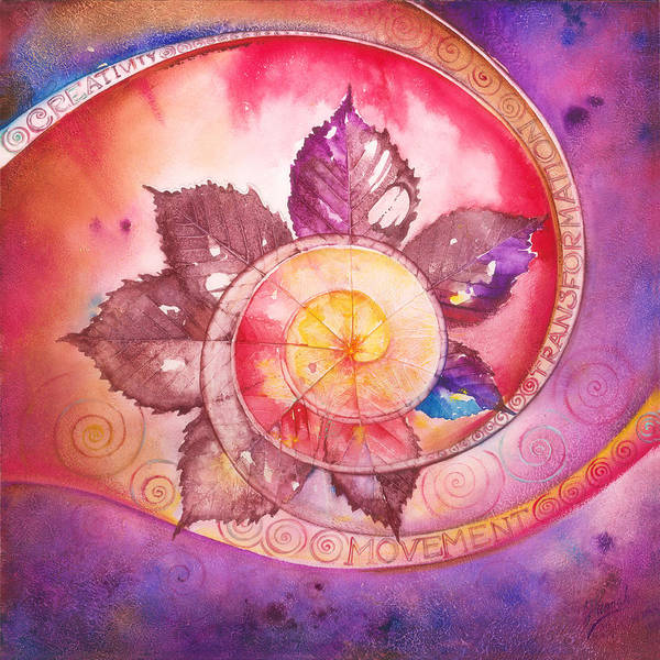 Painting - Mandala Of Creativity by Anna Ewa Miarczynska