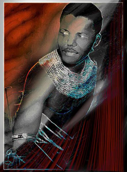 Photograph - Mandela by Glenn Feron