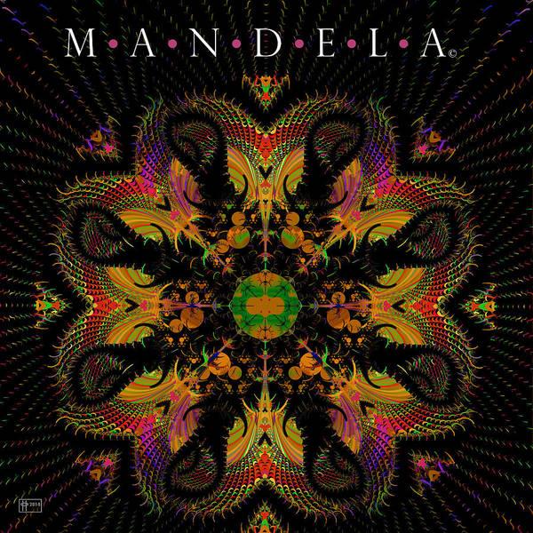 Fractal Landscape Digital Art - Mandela by Jim Pavelle