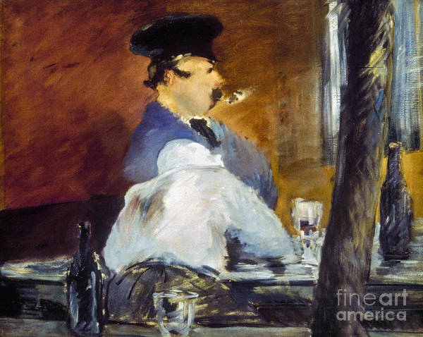 Photograph - Manet: Tavern, 1878 by Granger