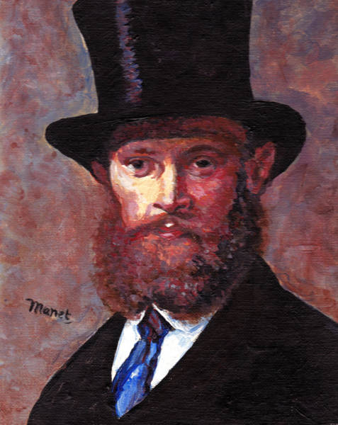 Painting - Manet by Tom Roderick