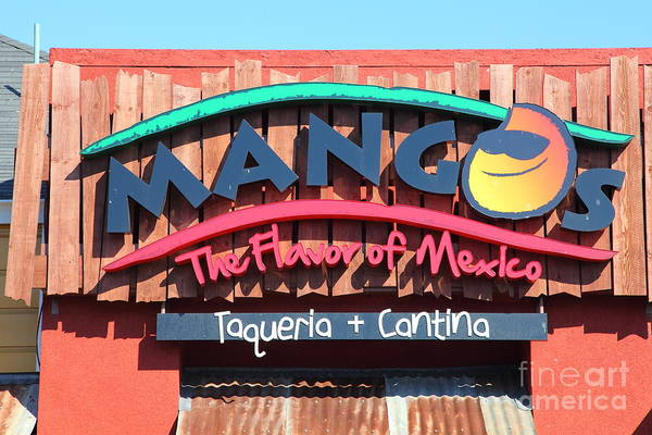 Cantina Photograph - Mangos Restaurant At San Francisco California 5d26091 by Wingsdomain Art and Photography