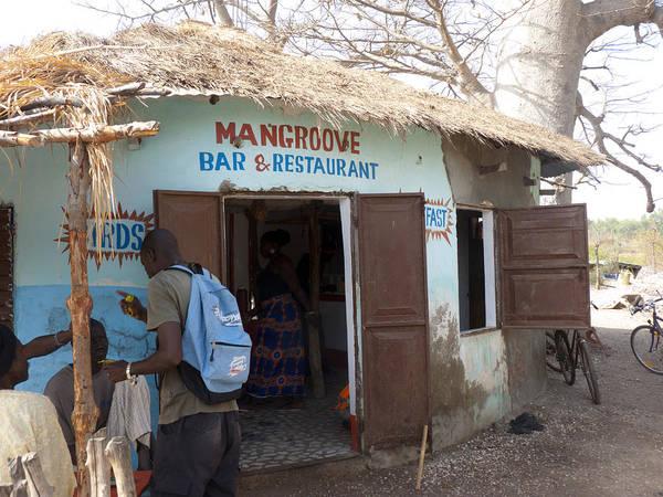 Photograph - Mangrove Bar And Restaurant by Tony Murtagh