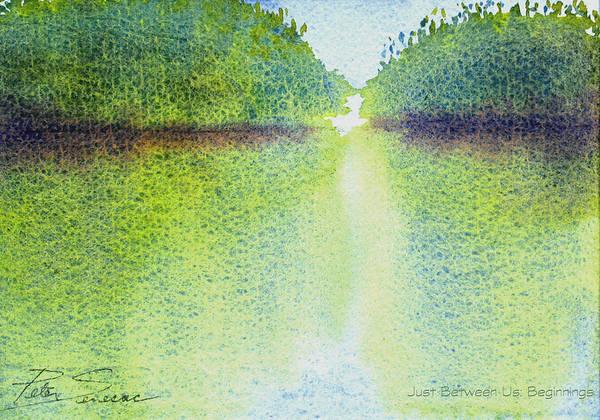 Painting - Mangrove Light #1 by Peter Senesac