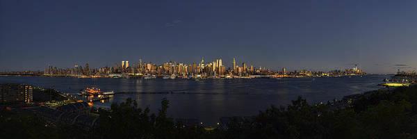 Photograph - Manhattan At Dusk by Mark Whitt