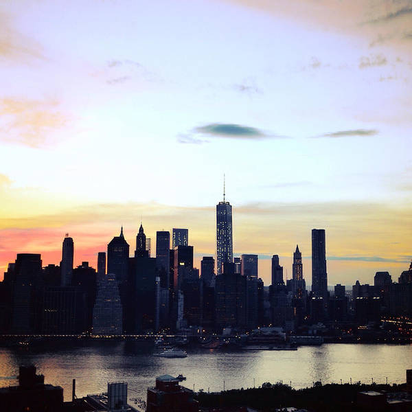Photograph - Manhattan At Dusk by Natasha Marco