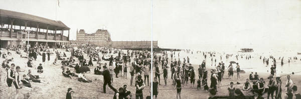 Photograph - Manhattan Beach, C1902 by Granger