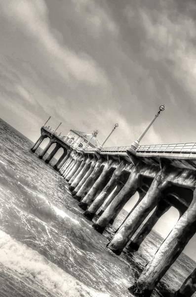 Photograph - Manhattan Beach Pier - Mike Hope by Michael Hope
