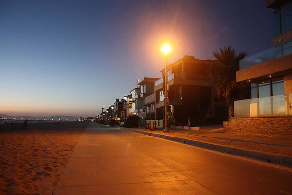 Photograph - Manhattan Beach Strand by Daniel Schubarth