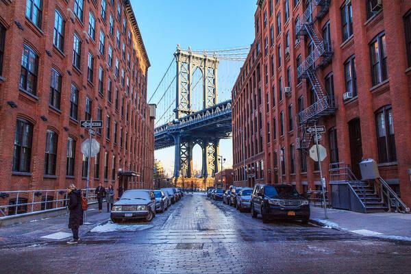 Villandry Photograph - Manhattan Bridge by Christopher Villandry