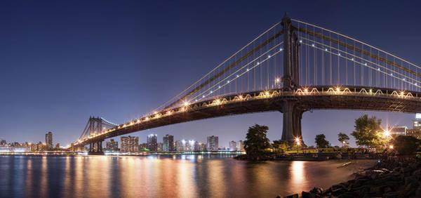 East Side Photograph - Manhattan Bridge, Lower East Side, New by David Clapp