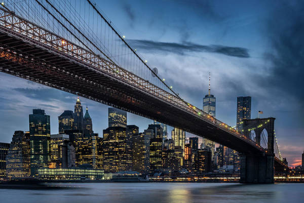 Canals Photograph - Manhattan From Dumbo by Ilker Ozmen