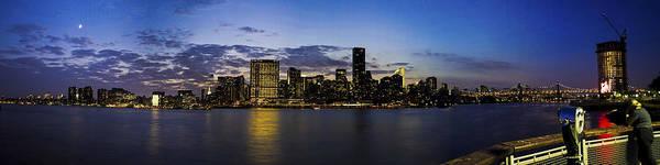 Photograph - Manhattan From Gantry by Theodore Jones