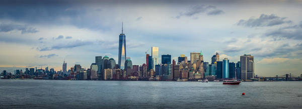 Photograph - Manhattan Island Skyline by David Morefield