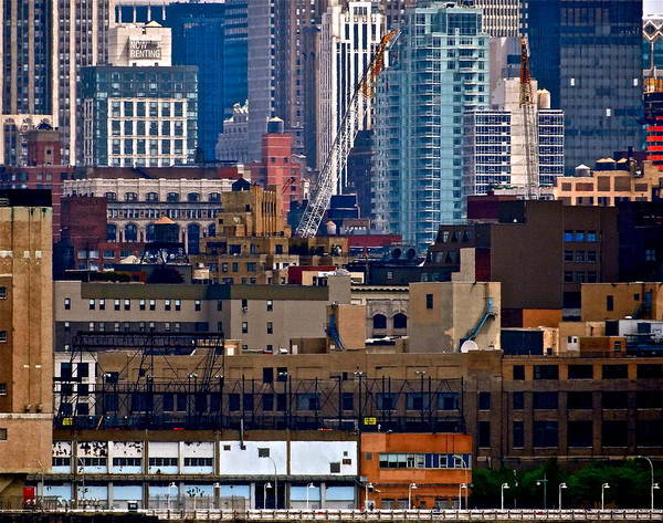 Holland Tunnel Wall Art - Photograph - Manhattan Jigsaw by Ira Shander