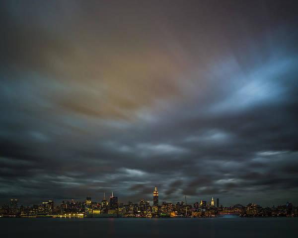 Wall Art - Photograph - Manhattan On The Horizon by Chris Halford