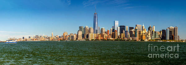 Photograph - Manhattan Panoramic by Nick Zelinsky