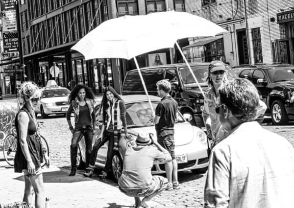 Photograph - Manhattan Photo Shoot by Frank Winters