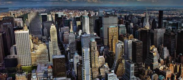 Blade Runner Photograph - Manhattan Skyline 5 by New York