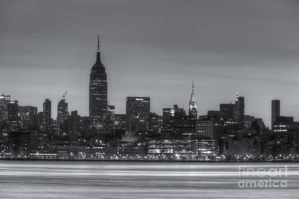 Photograph - Manhattan Skyline And Pre-sunrise Sky II by Clarence Holmes