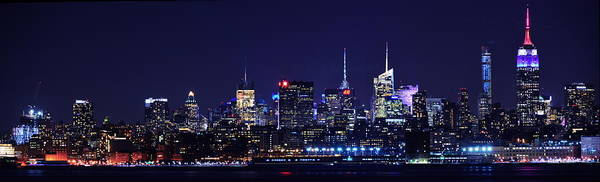 Photograph - Manhattan Skyline From Liberty State Park by Raymond Salani III