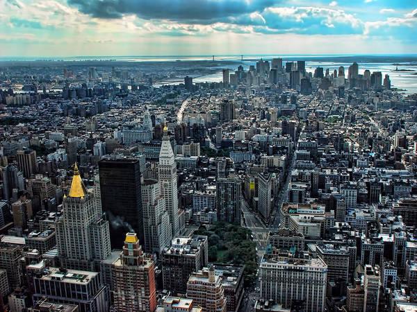 Blade Runner Photograph - Manhattan Skyline Morning Time by New York