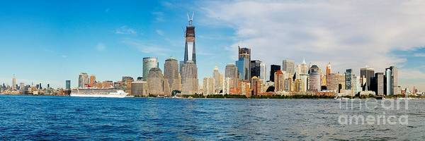Photograph - Manhattan Skyline by Nick Zelinsky