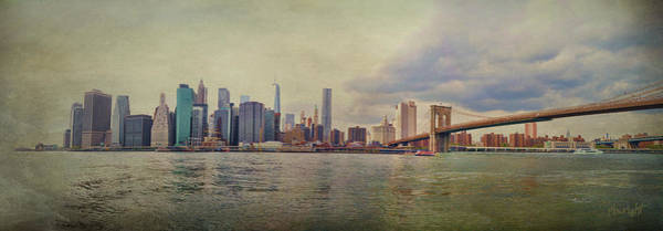 Photograph - Manhattan Skyline by Paulette B Wright