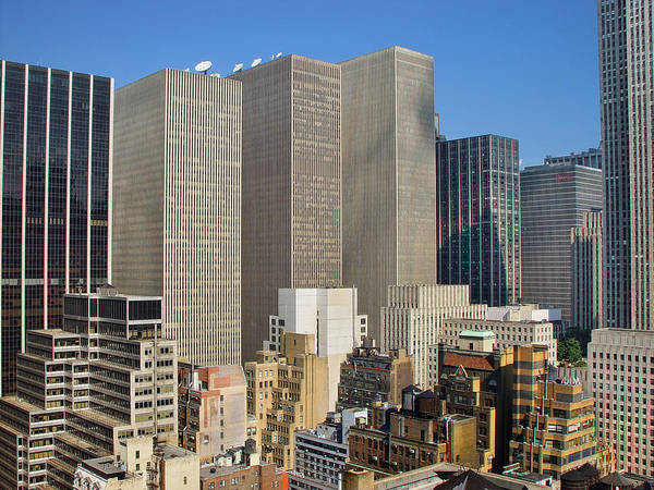 Blade Runner Photograph - Manhattan Urban Jungle by New York