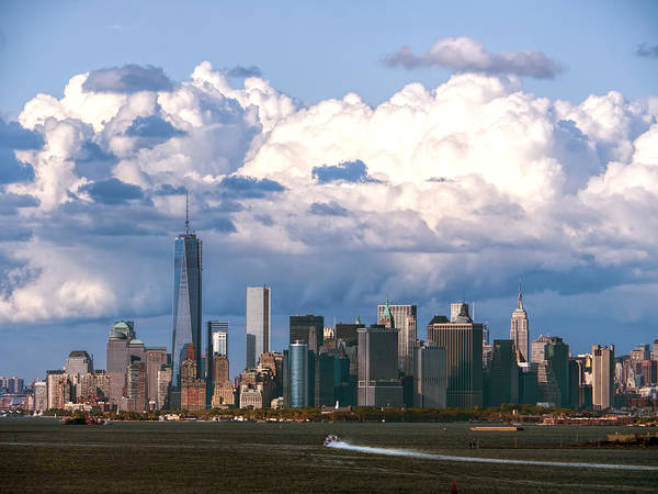 Photograph - Manhattanincloudbank by S Paul Sahm