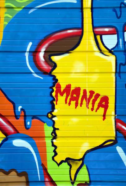 Urban Expressions Wall Art - Photograph - Mania by Ricky Barnard