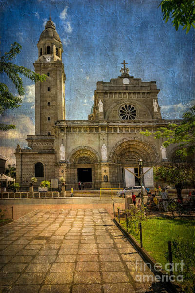 Wall Art - Photograph - Manila Cathedral by Adrian Evans
