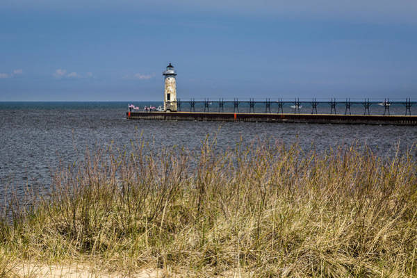 Photograph - Manistee North Pierhead Lighthouse - Manistee Mi by Jack R Perry