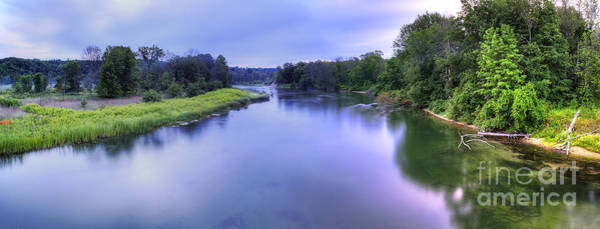 Manistee Photograph - Manistee River From High Bridge by Twenty Two North Photography