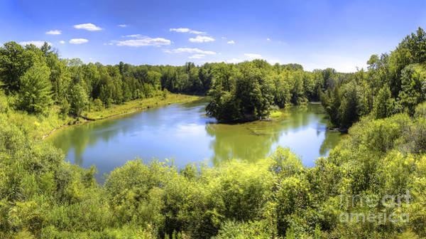 Manistee Photograph - Manistee River In Summer by Twenty Two North Photography