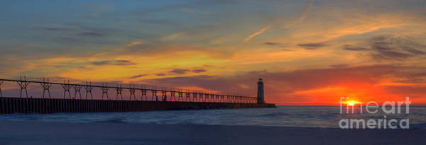 Manistee Photograph - Manistee Sunset by Twenty Two North Photography
