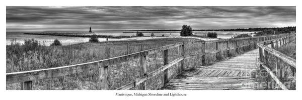 Upper Peninsula Wall Art - Photograph - Manistique Lakefront by Twenty Two North Photography